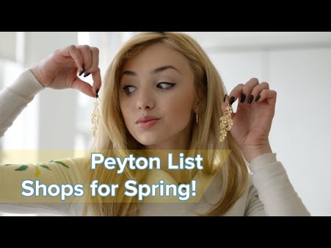 Peyton List's must-have accessories