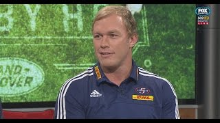 Rugby HQ - Schalk Burger on the panel | Super Rugby Video Highlights