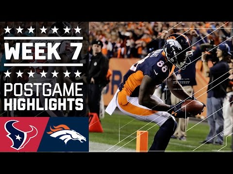 Texans vs. Broncos | NFL Week 7 Game Highlights