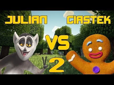 Król Julian vs Ciastek #2 Blitz Survival Games
