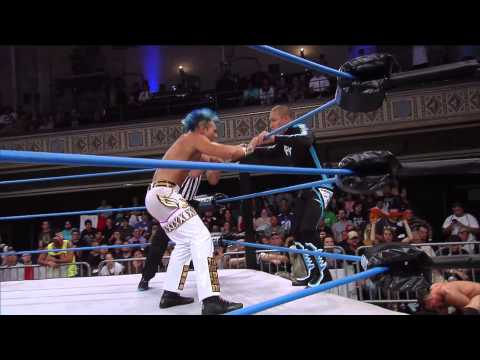 Low Ki Returns to IMPACT WRESTLING to Face DJ Z (July 24, 2014)