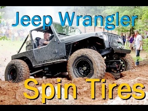 Spin Tires 2013 - Gameplay. Review. Commentary. Jeep Wrangler 4x4 mod. download. off road.