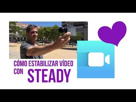 Estabilizador de vídeo Steady, app para iOS