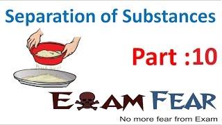Chemistry Separation of Substances Part 10 (Separate Sand Salt Mixture) Class 6 VI