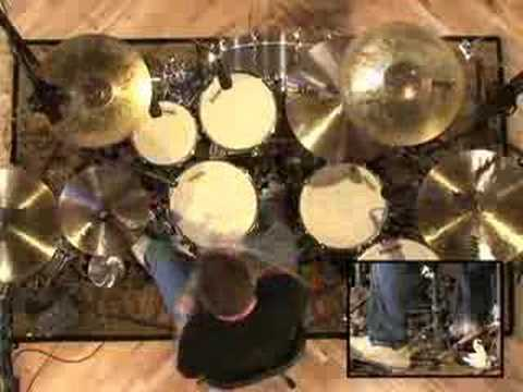 Rock Drum Play-Along #2 - Drum Lessons