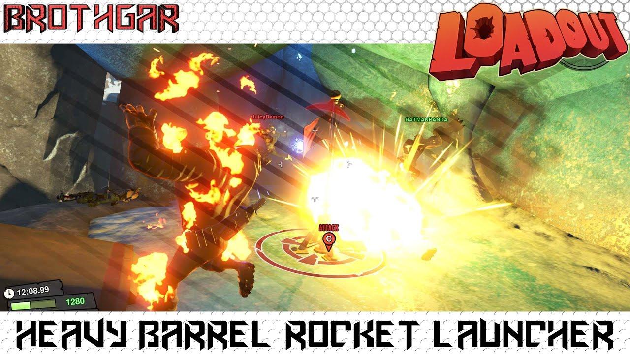 Heavy Quad Launcher Heavy Barrel Rocket Launcher