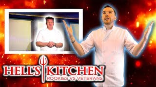 Gordon Ramsay IS BACK!!! - Hell's Kitchen Rookies Vs Veterans Ep 1 Review