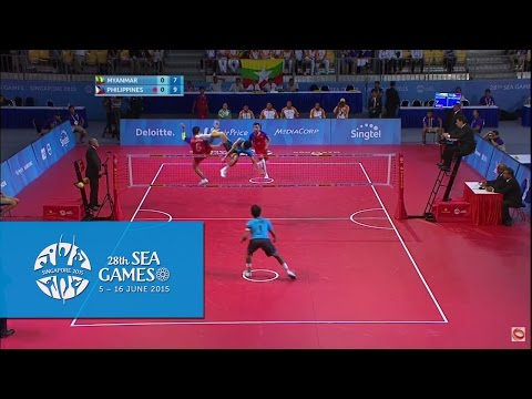 Sepaktakraw Men's Doubles Finals (Day 10) | 28th SEA Games Singapore 2015