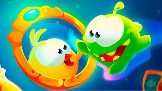 Приключения Ам Няма #1 - Сказки (Cut the Rope) - детская игра про мультик видео для детей #ПУРУМЧАТА