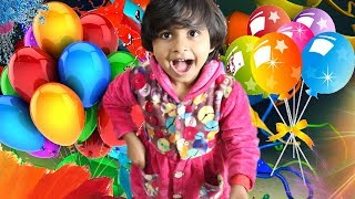 Colorful Balloon | Gapol Learn Colors with Balloons by Swinging