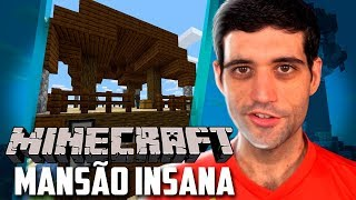 Minecraft 1.14 #12 - Nossa MANSÃO Esta Ficando INSANA e a Reforma da Fazenda