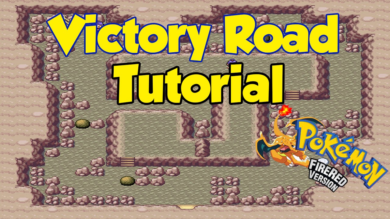 Pokemon Fire Red Victory Road Quick Walktrough Tutorial Youtube