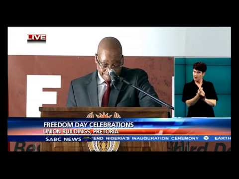 President Jacob Zuma speech - Freedom Day Celebrations