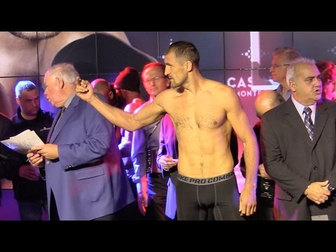 Kovalev gives Pascal finger at weigh-in