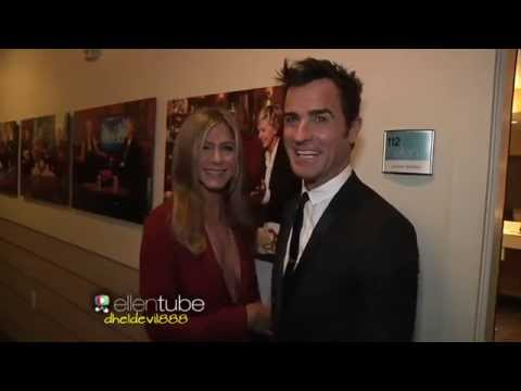 Jennifer Aniston & Justin Theroux Birthday Message for Ellen
