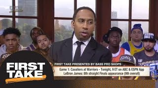 Stephen A.: Kyrie Irving was tired of being treated like less than a superstar | First Take | ESPN