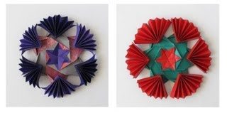 Cool Snowflake -modular Origami
