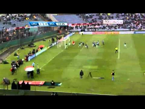 Uruguay vs Bolivia 4-2 Suarez Goal 7.10.2011