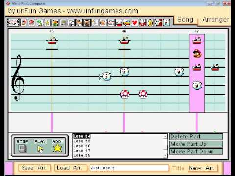 Mario Paint - just Lose It By Eminem video