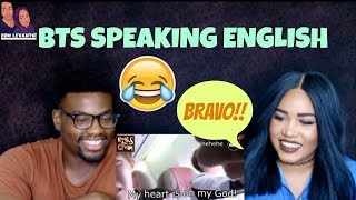 Download Lagu BTS- Speaking English| REACTION Gratis STAFABAND