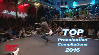 Kefton&icce&Les twins& Paradox boubou&Zyko Summer Dance 2016  TOP Preselection Compliations海选精集