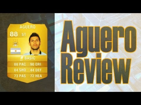 Fifa 14 Ultimate Team Sergio Aguero Player Review w In Game Stats