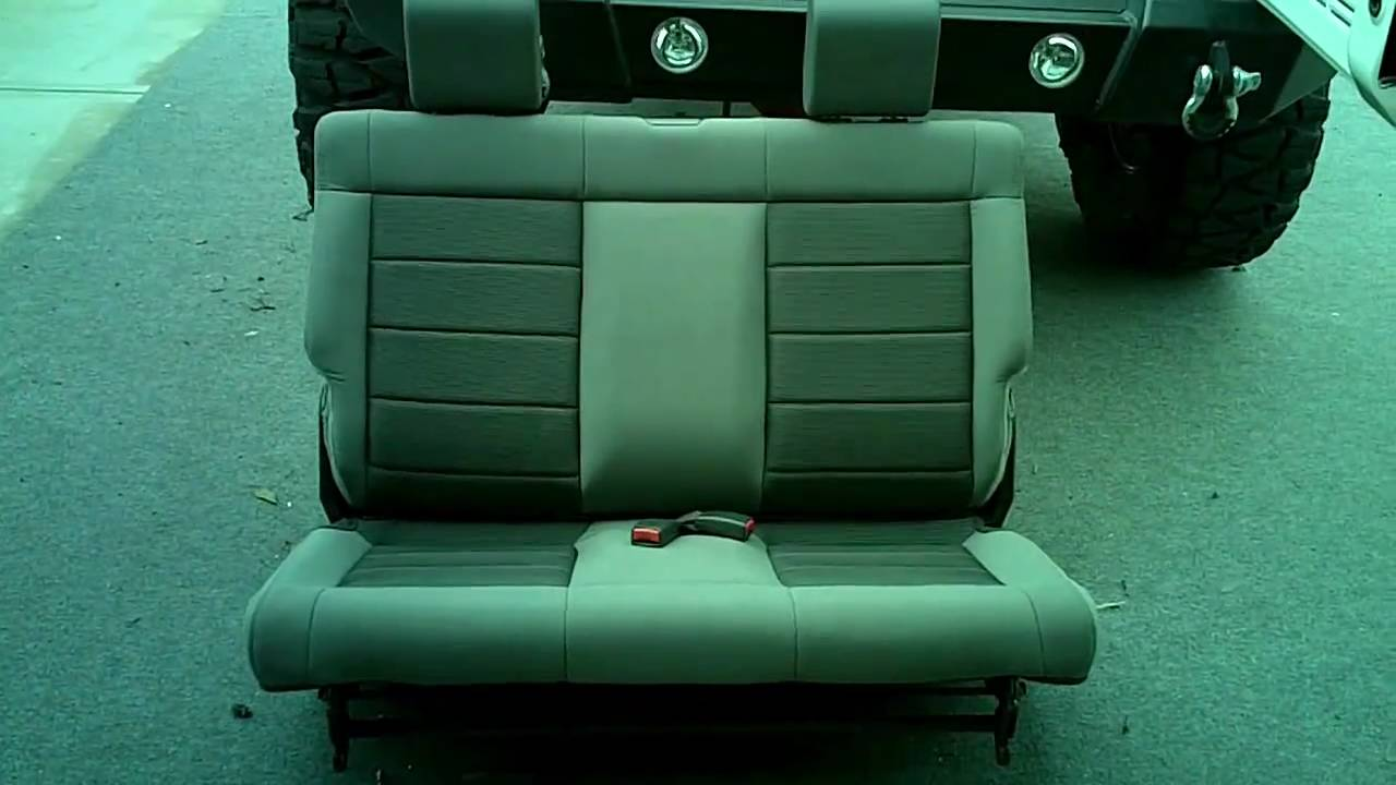 Third Row Seat Jeep Wrangler