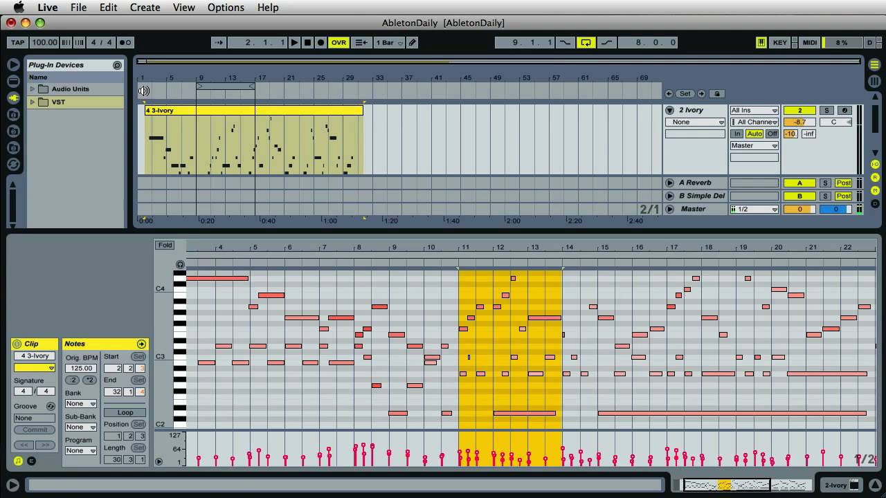 how to trigger samples in ableton live