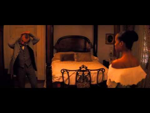 Broomhilda meeting Django scene (Django Unchained)