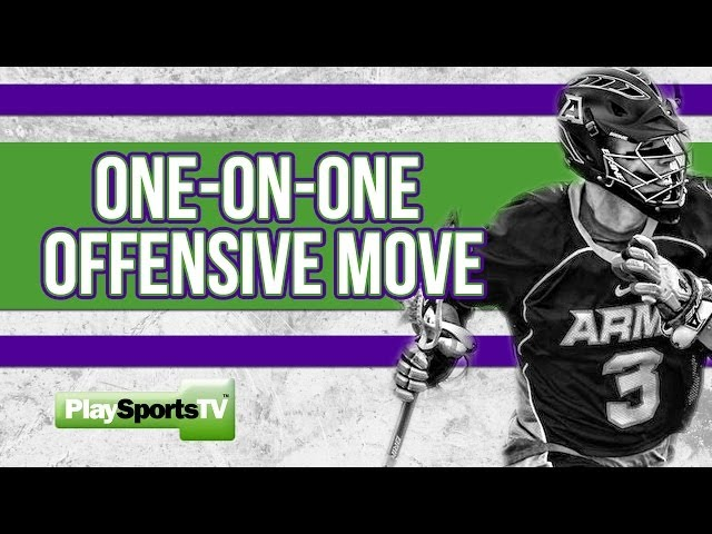 Boys' Lacrosse Tips: One-on-One Offensive Move