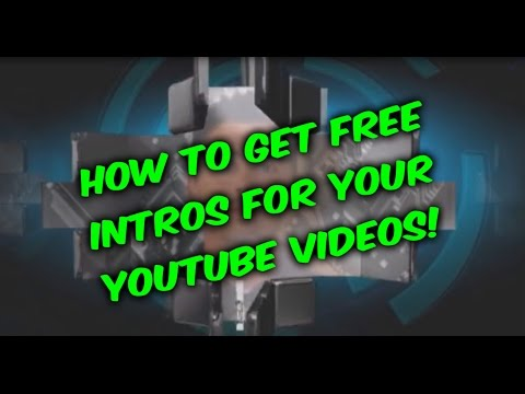 How to create a Youtube intro, easy way