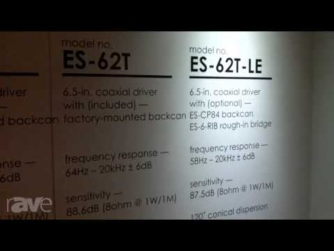InfoComm2013: Lowell Outlines the ES Series