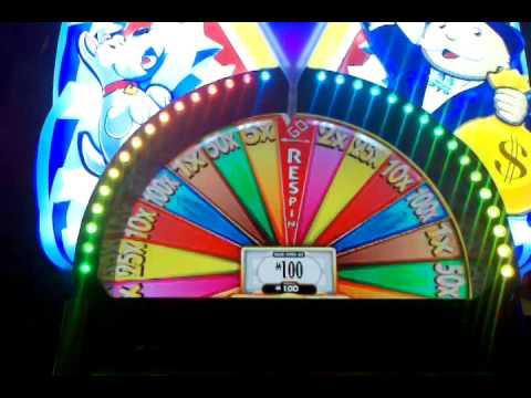 WMS Super Monopoly Money Top Possible Prize money wheel Nice WIN