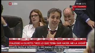 """Exposición del juez Padilla en el Congreso: """"Apretaban gente para declarar"""""""