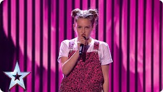 What a VOICE! Giorgia Borg hits the right notes | Semi-Finals | BGT 2019