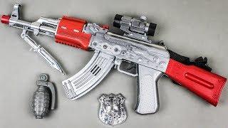 Box of New Toys | Realistic AK-47 3d Music Gun | Unboxing Toy Gun for Kids & Children w Doraemon