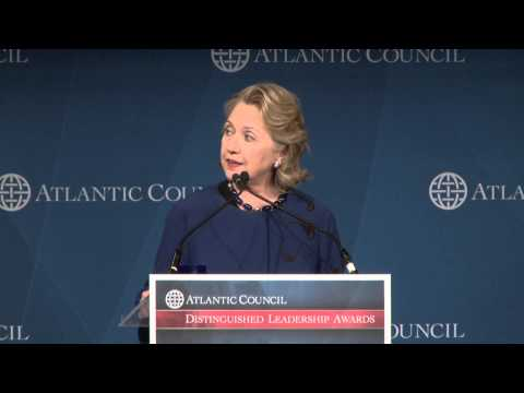 Hillary Clinton: 2013 Distinguished International Leadership Award