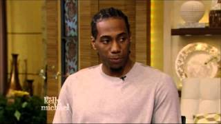 Kawhi Leonard on Kelly and Michael Show 2014
