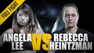 ONE: Full Fight | Angela Lee vs. Rebecca Heintzman-Rozewski | Outstanding Submission | February 2016