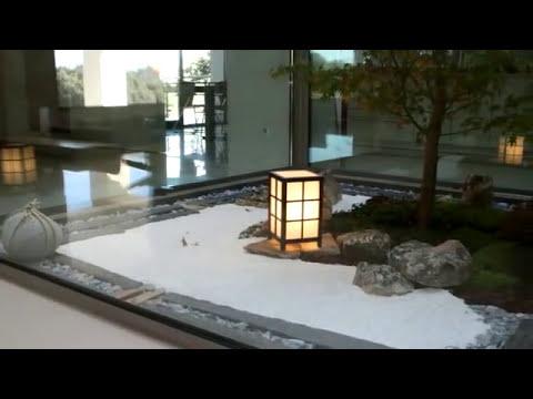 Jardin zen estilo minimalista