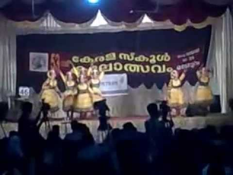 Kerala State School Festival 2013 Malappuram, Group Dance Hss 2.flv video