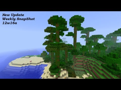 Minecraft New Update Weekly Snapshot 12w16a