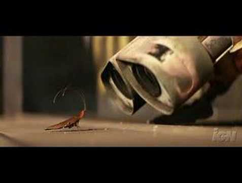 Wall-E WallE Movie Trailer Teaser New  Funny Jun 27, 2008