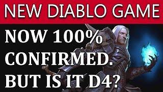 New Diablo Game 100% Confirmed | Possibly Diablo 4 | June 2018 News
