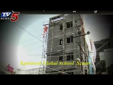 Kamineni Global Schools Scams At Guntur -  TV5