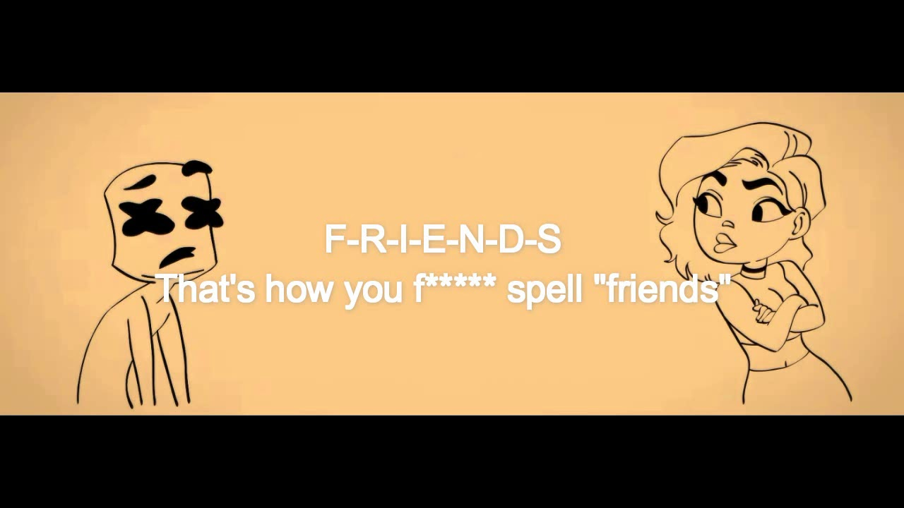 Marshmallow friends lyrics