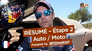 Résumé de l'Étape 2 - Auto/Moto - (Resistencia / San Miguel de Tucumán) - Dakar 2017