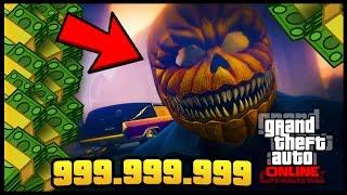 GTA 5 ONLINE REGALANDO $999.999.999 PARA EL DLC HALLOWEEN 1.36/1.28 PS3, PS4, XBOX ONE, XBOX 360, PC