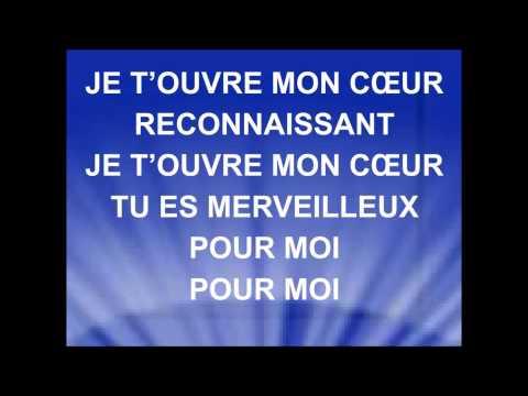 JE T'OUVRE MON COEUR - Jean-Marc Lerigab