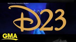 Behind the scenes at the D23 Expo | GMA